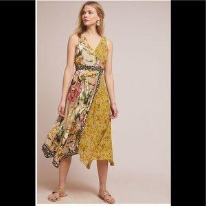 ‼️HTF Anthropologie Sofia Wrap Dress Size 8‼️